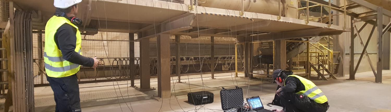 Mesures et analyses vibratoire sur machines tournantes