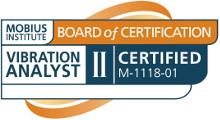 Certification analyse vibratoire